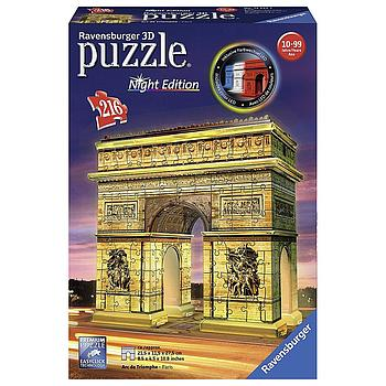 Arco di trionfo night edition puzzle 3D 216 pezzi